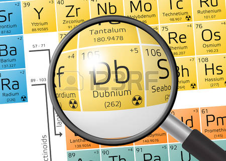 El  27 de abril de 1970 se descubre el Dubnio, elemento 105 de la tabla periódica