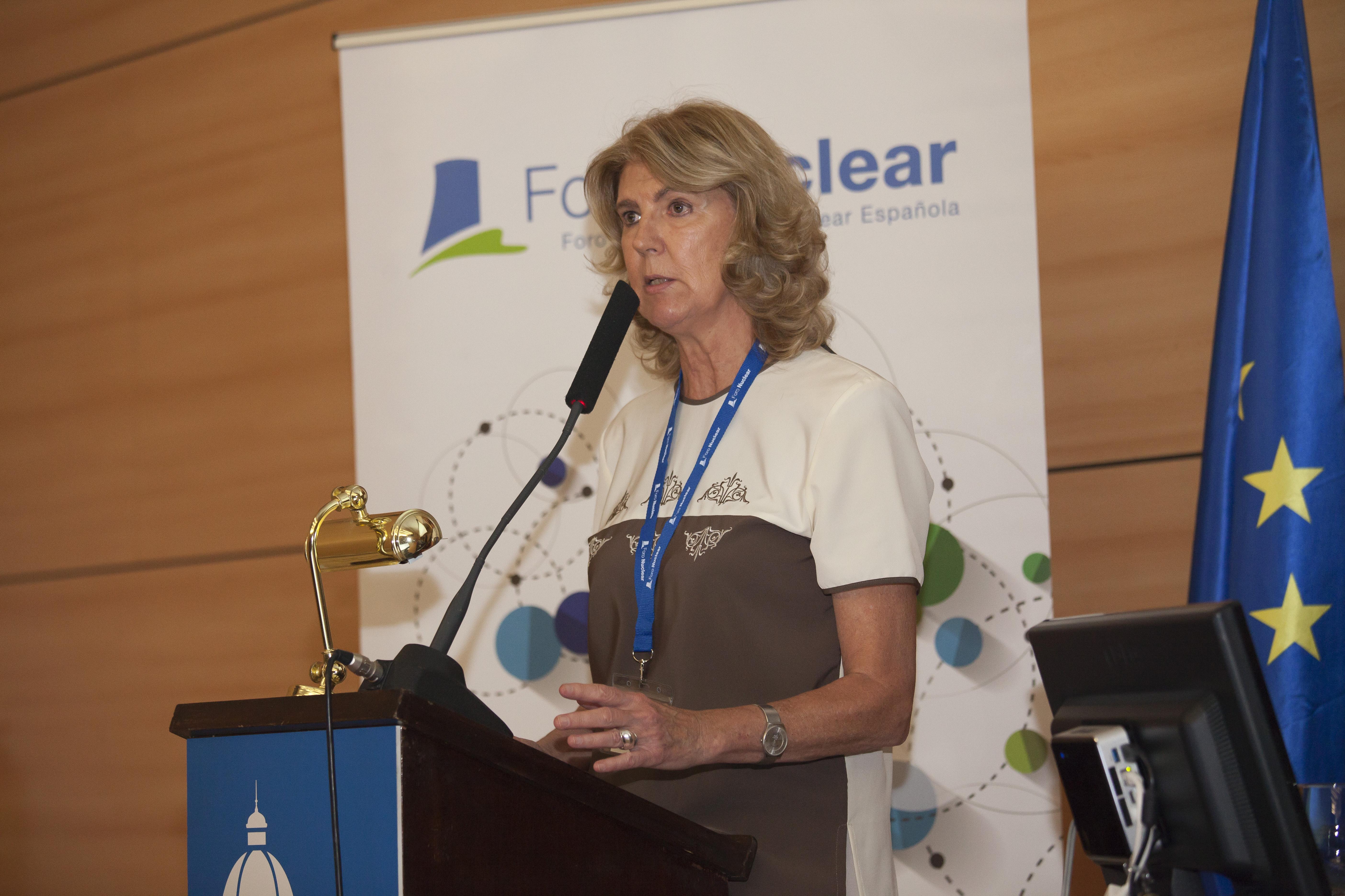 Carolina Ahnert, Catedrática de Ingeniería Nuclear de la Universidad Politécnica de Madrid