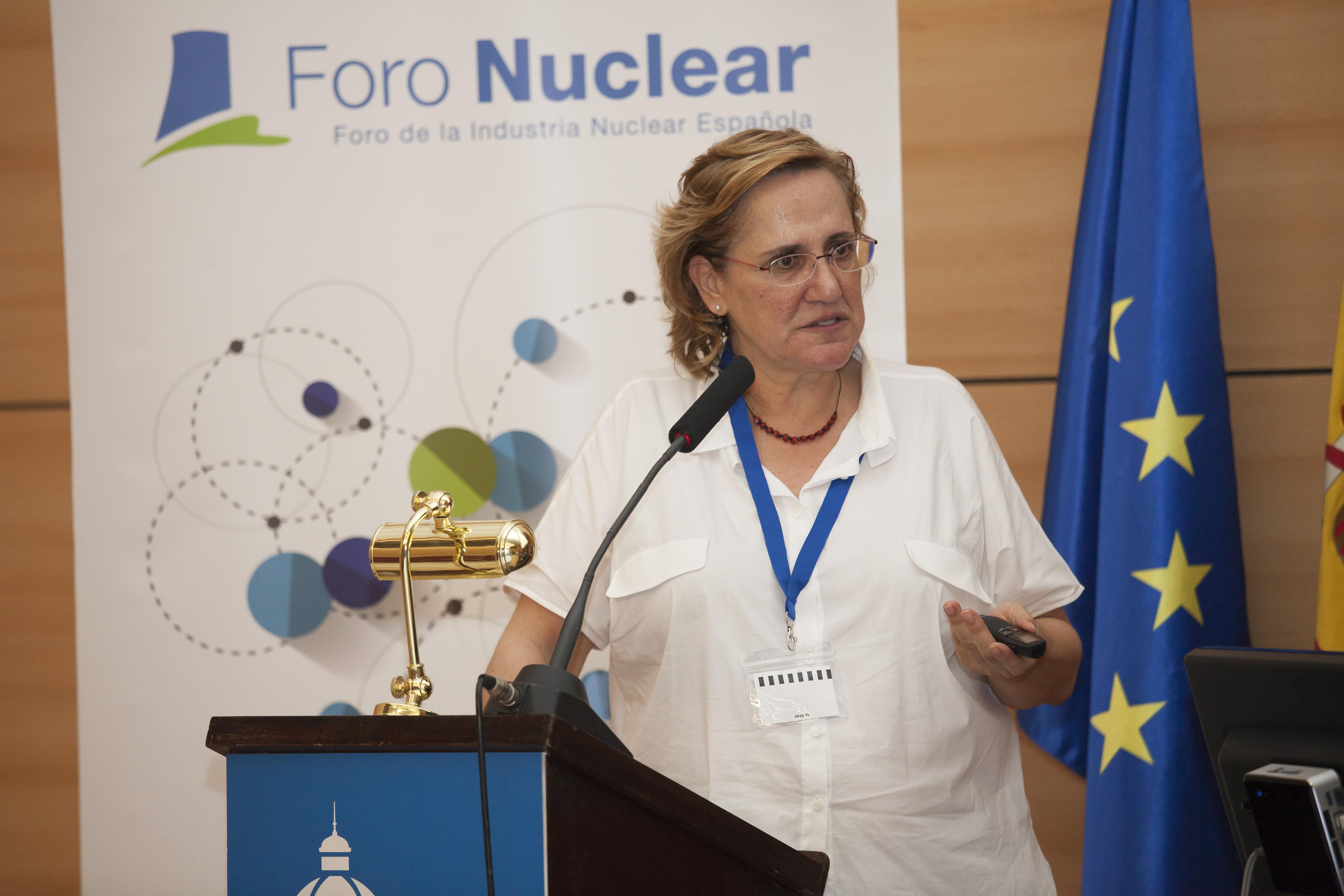 Almudena Real, Jefa de la Unidad de Protección Radiológica del Público y del Medio Ambiente del CIEMAT