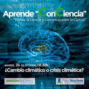 Aprende ConConciencia - Cambio Climático o crisis climática