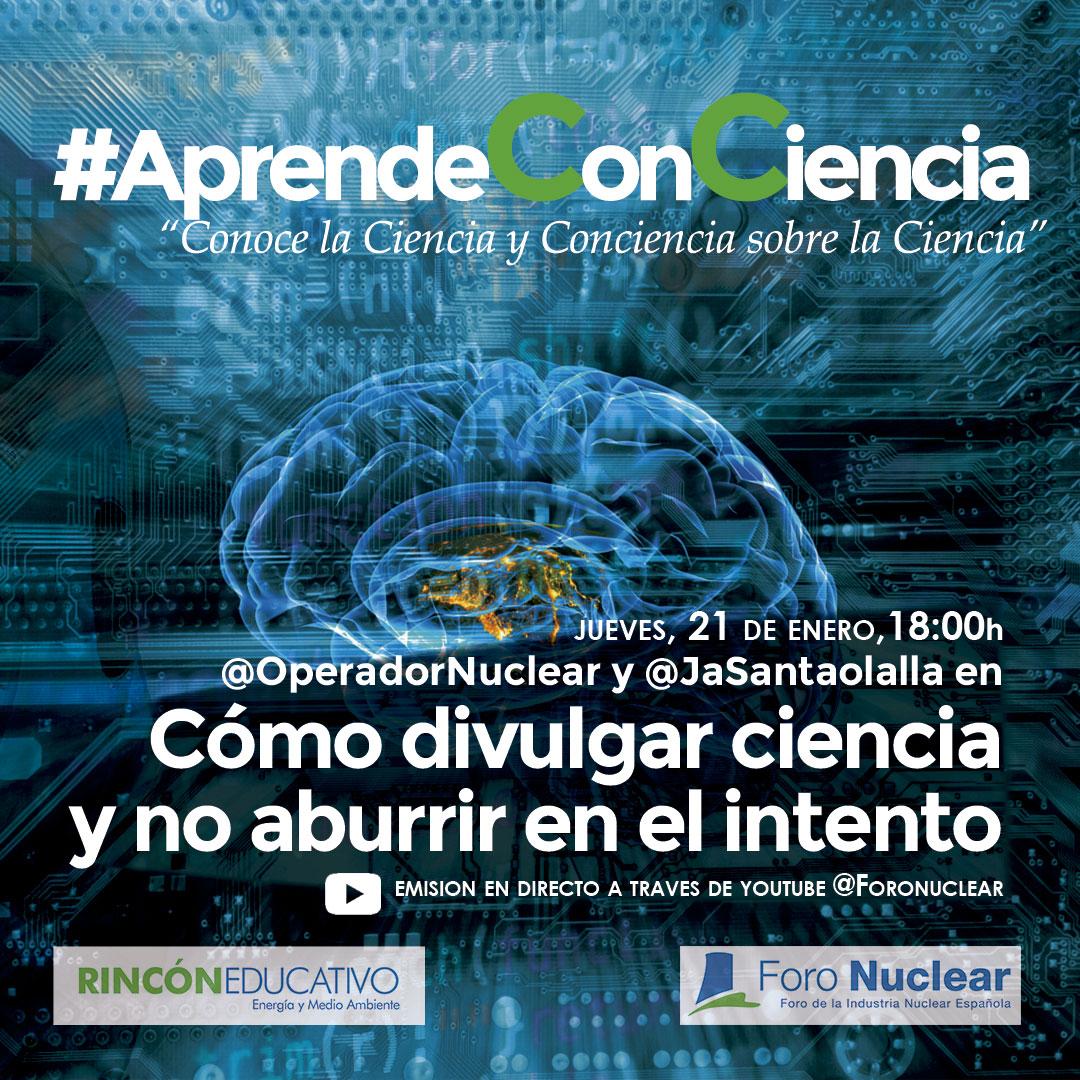 Aprende ConConciencia - @OperadorNuclear y @JaSantaolalla