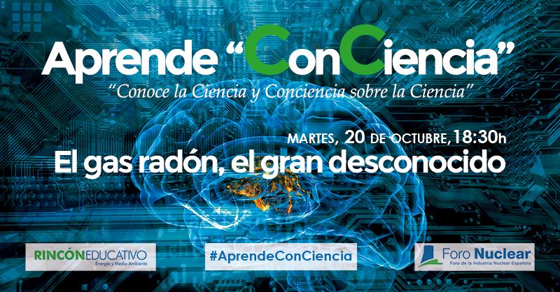 """Primera conferencia del ciclo Aprende """"ConCiencia"""""""