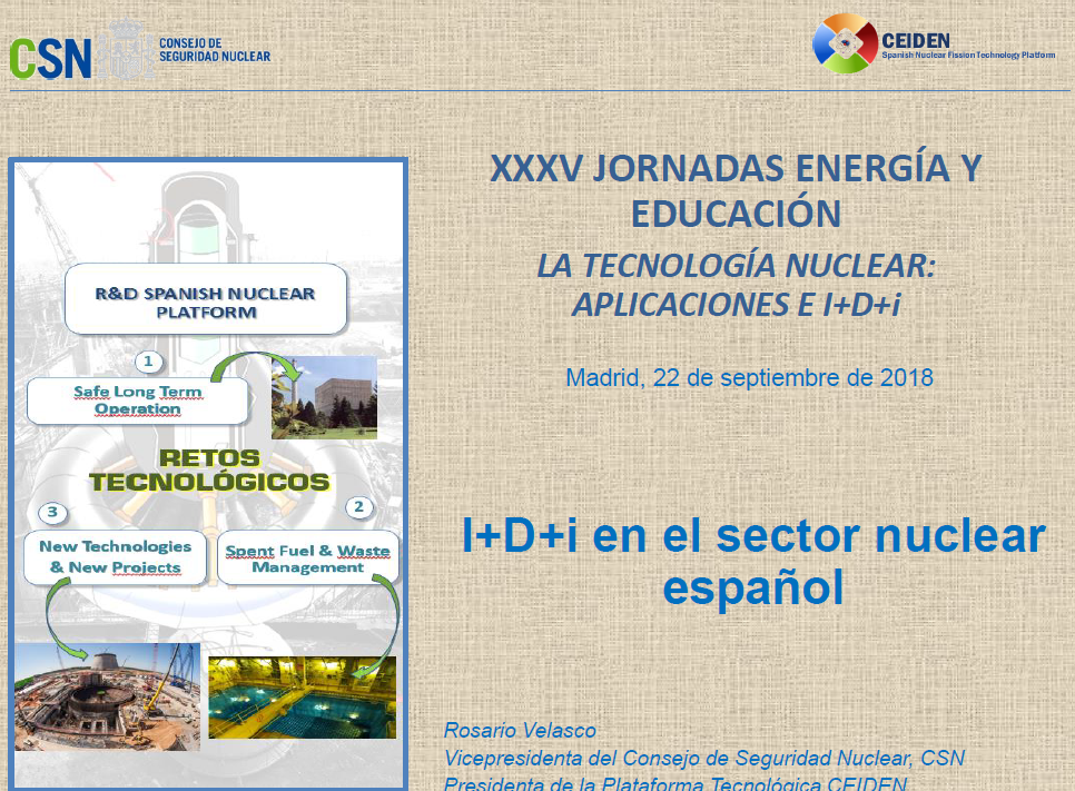 I+D+i en el sector nuclear español