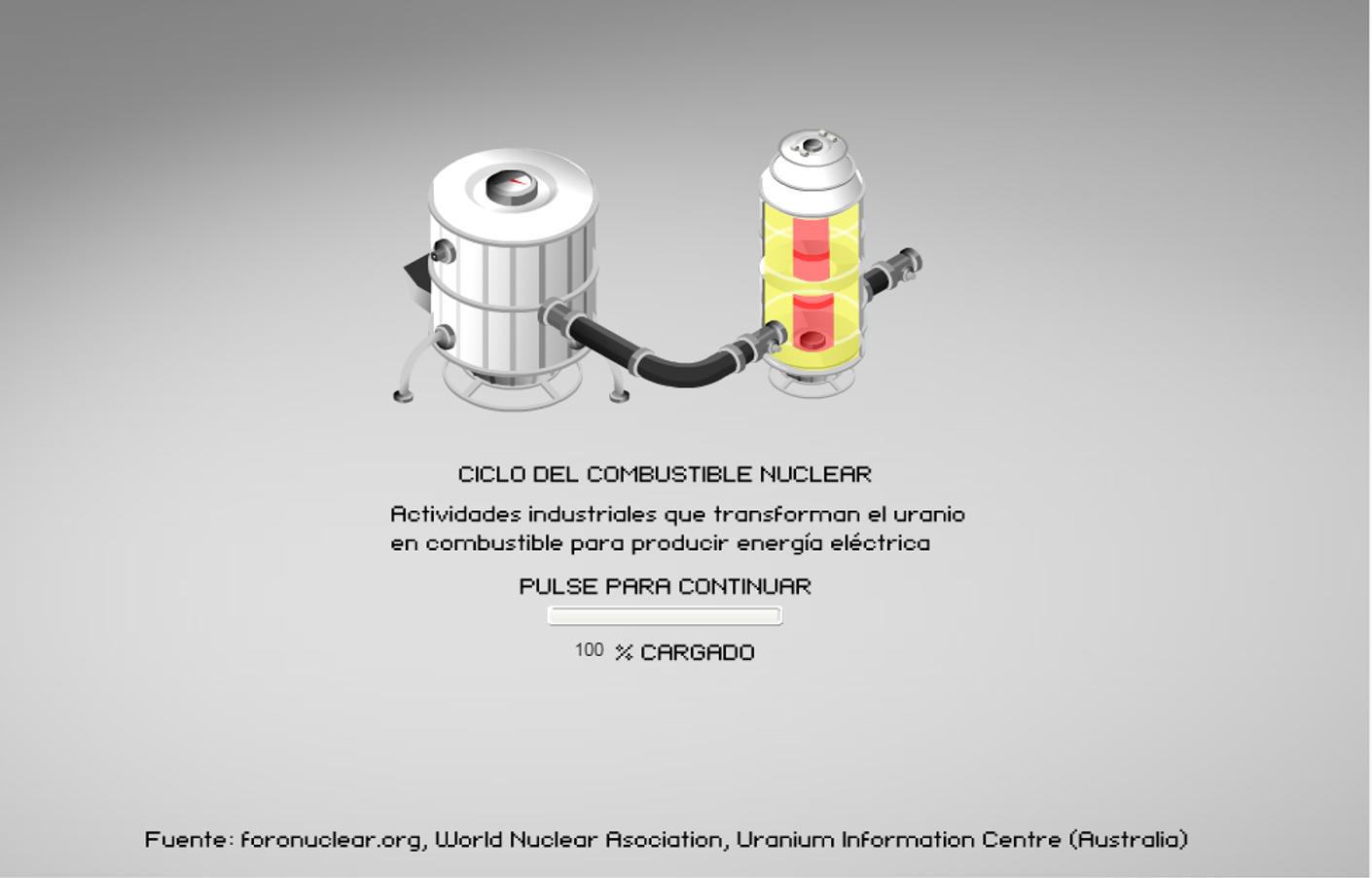 CICLO DEL COMBUSTIBLE NUCLEAR