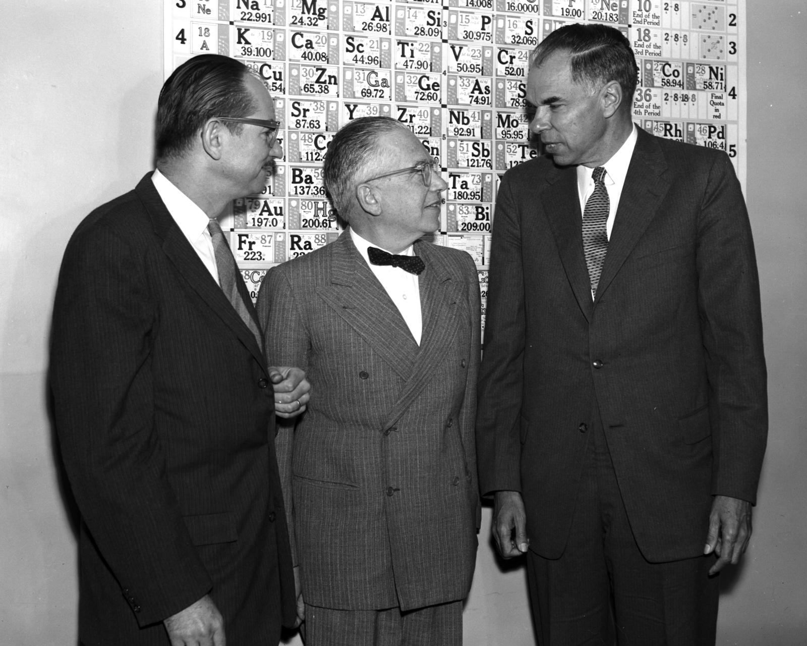 Edwin McMillan y Glenn Seaborg