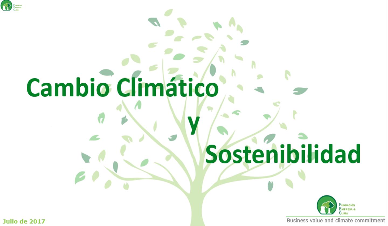 Sostenibilidad y Clima