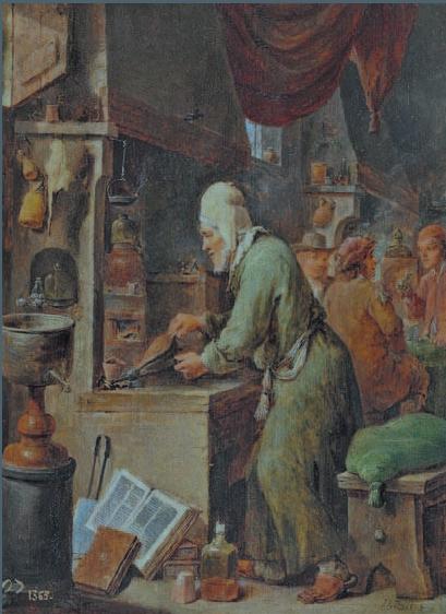"""""""El Alquimista"""" Museo del Prado"""