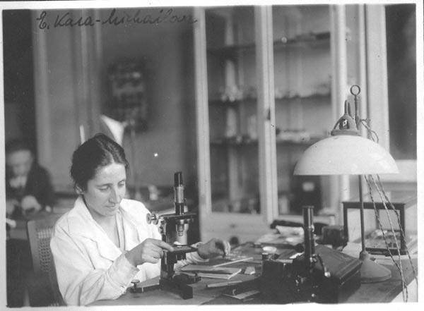La física Elisabeth Karamichailova (1897-1968) nació un 3 de septiembre