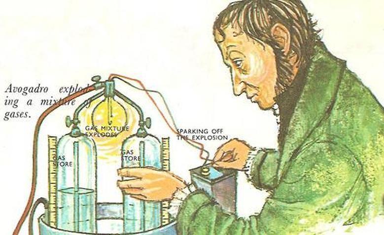Experimento de Amedeo Avogadro