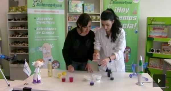 Nuevos experimentos y juegos científicos para realizar  con alumnos de primaria