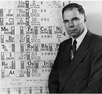 Glenn T. Seaborg, Premio Nobel en Química, nace el 19 de abril de 1912