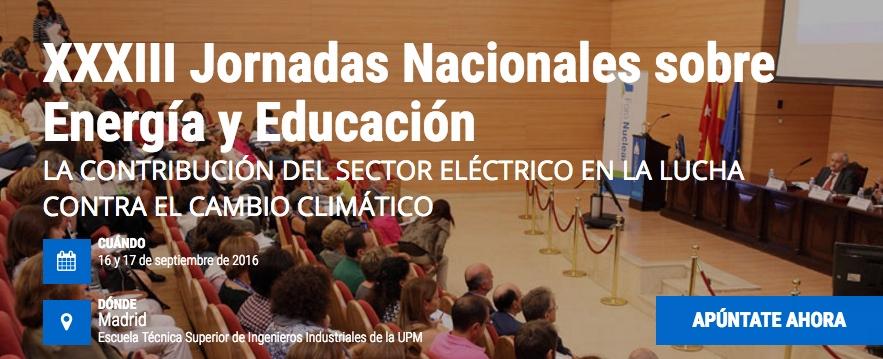Programa: XXXIII Jornadas Nacionales sobre Energía y Educación