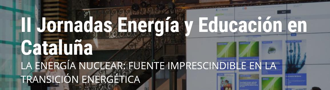 II Jornadas sobre Energía y Educación en Cataluña