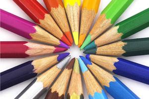 lápices al centro