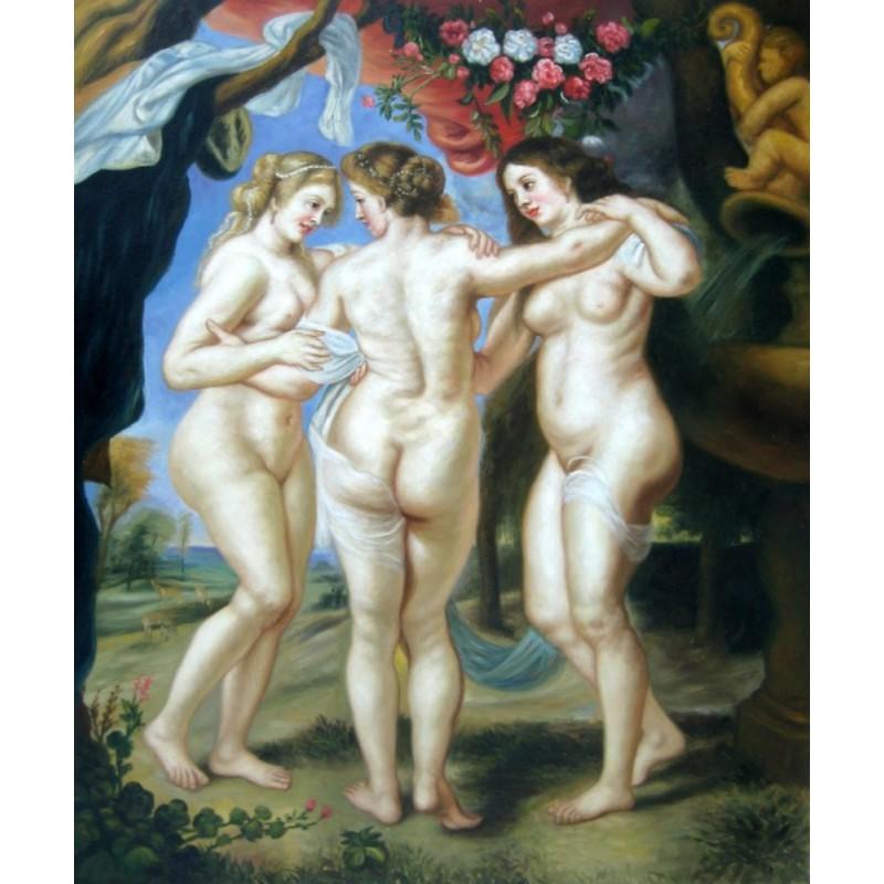 Las tres gracias de Rubens son cuarks