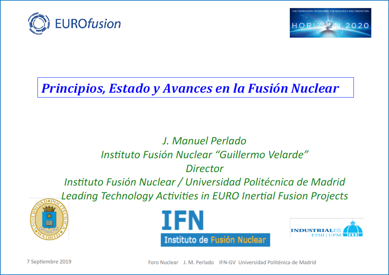 Avances en Fusión Nuclear