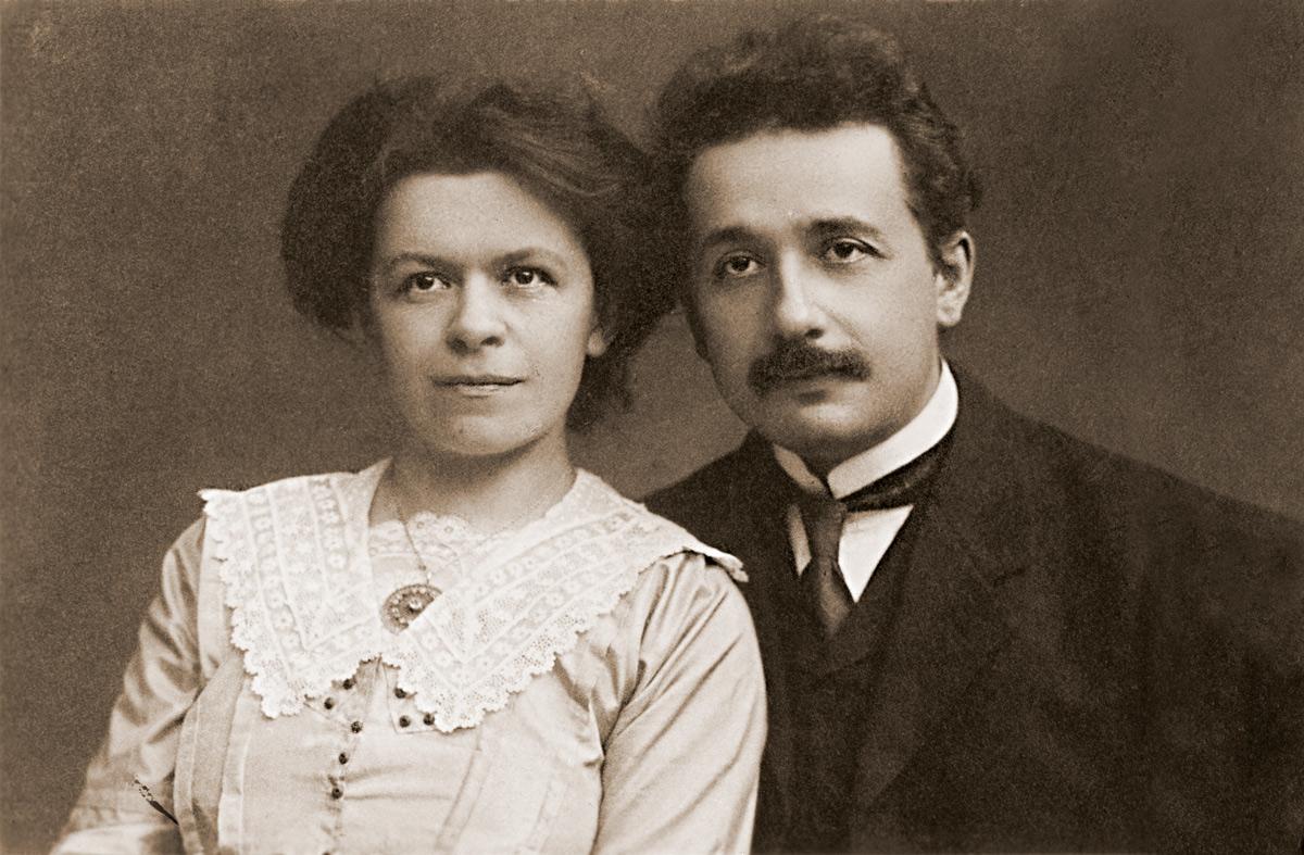 Mileva Maric y Albert Einstein