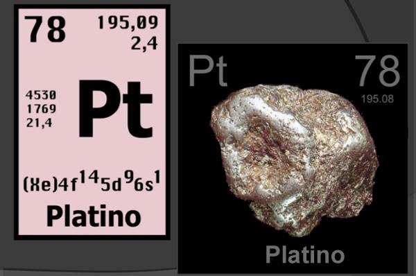Platino, descubierto por Antonio de Ulloa