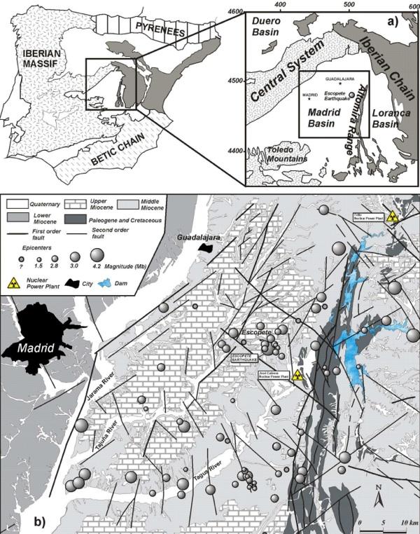 Requisitos para emplazamientos nucleares: los estudios sísmicos en los emplazamientos nucleares en España