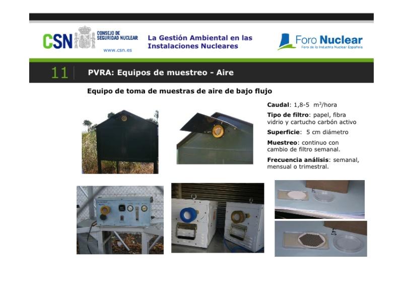 Mesa Redonda: La Gestión Ambiental en las Instalaciones Nucleares. Presentación de Carmen Rey
