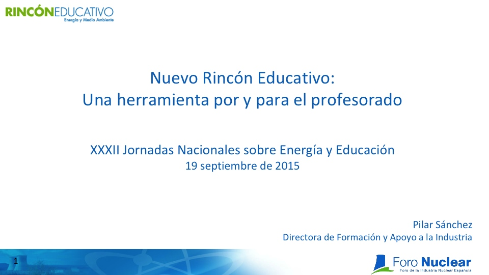 Nuevo Rincón Educativo: Una herramienta por y para el profesorado