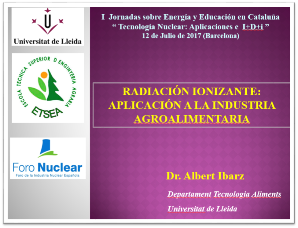 Albert Ibarz. Universidad de Lérida