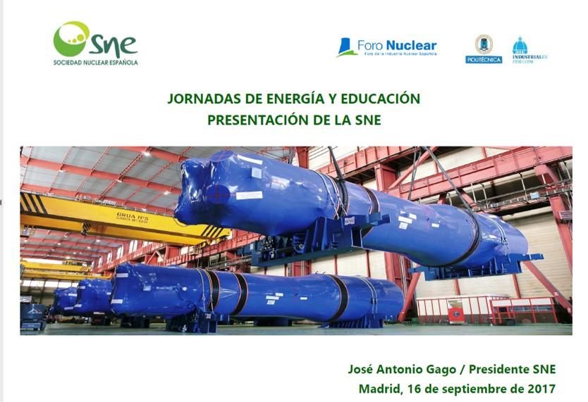 Ponencia de José Antonio Gago