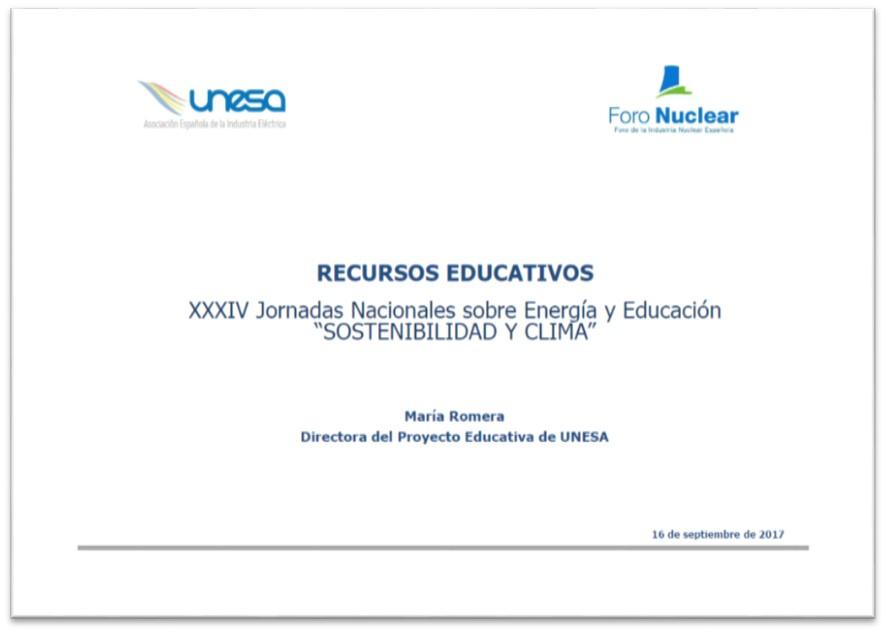 María Romera. Directora del Proyecto Educativo de Unesa