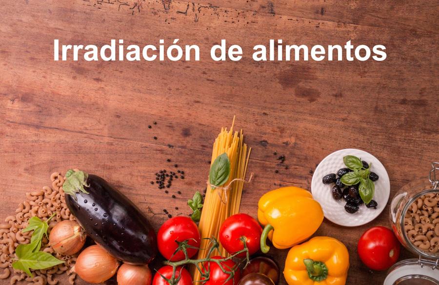 irradiación alimentos