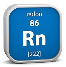 Elemento químico del Radón Rn
