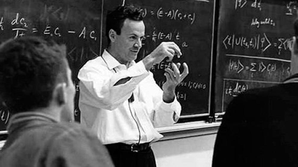 Centenario del nacimiento de Richard Feynman