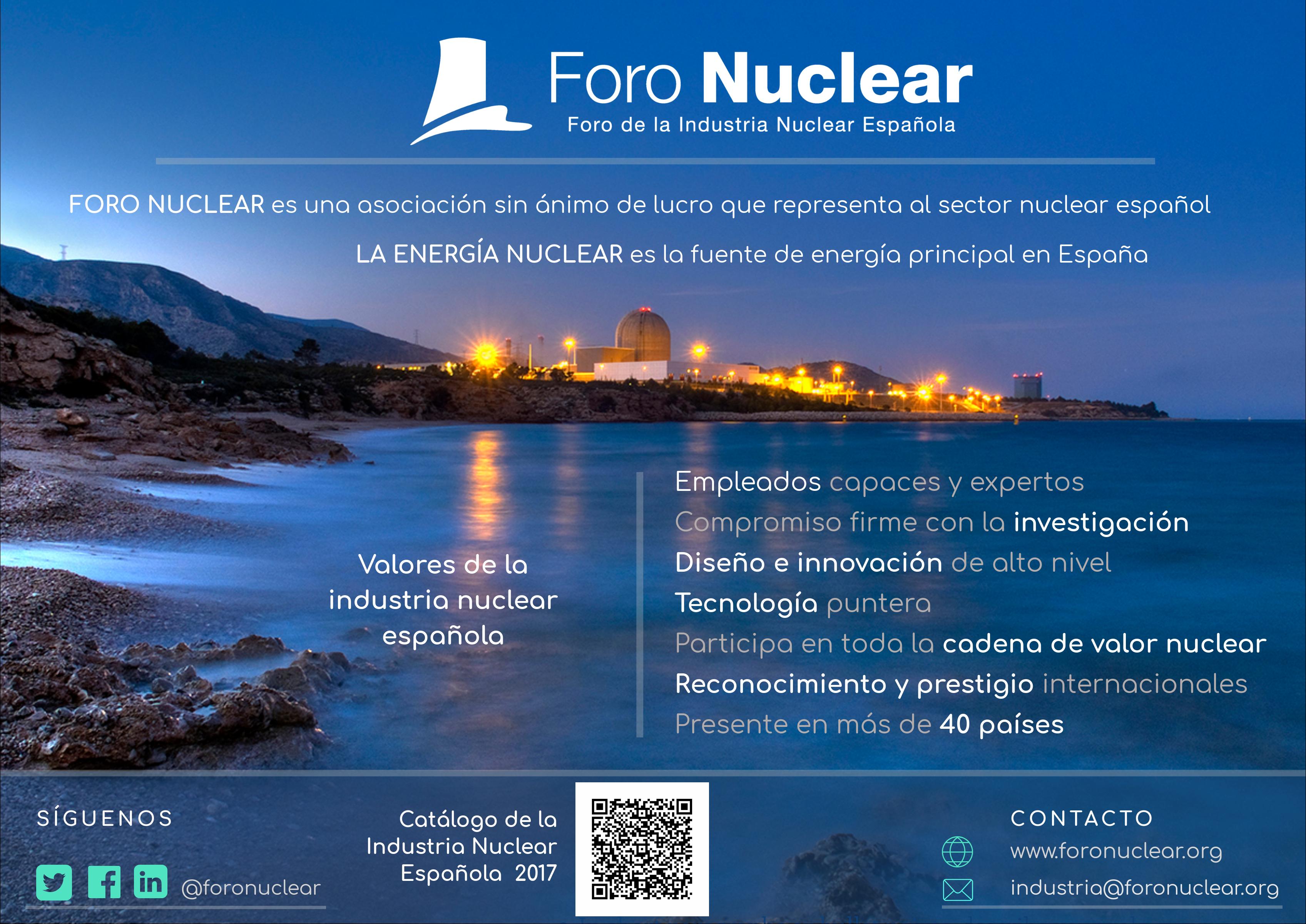 Valores de la Industria Nuclear Española