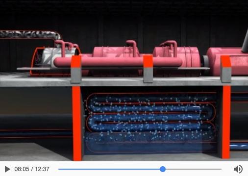 Centrales nucleares de agua a presión